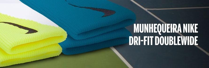 Munhequeira Nike Dri-Fit Doublewide